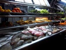 Natürlich gibt es auch frischen Fisch im TopSpot