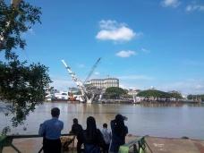 Brückenbauarbeiten