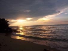 So schön, Sonnenuntergang am Südchinesischen Meer
