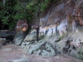 Tolle Felsformationen mit fantastischen Farben