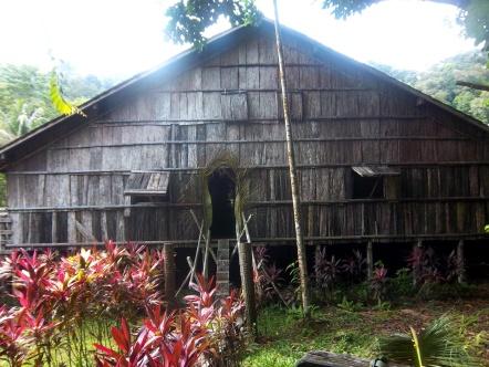 Eingang zum Iban-Longhaus