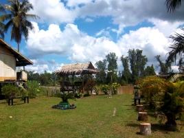 Einer der Gärten am Fluss