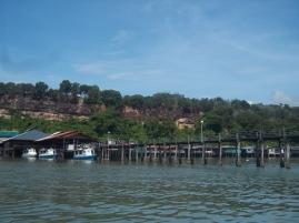 Zurück am Jetty in Sandakan