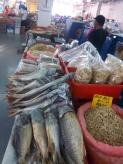 Allgegenwärtig: getrockneter und gesalzener Fisch