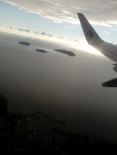 Diese drei Inseln gehören zum Tunku Abdul Rahman National Park vor Kota Kinabalu