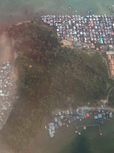 Fischerdörfer umgeben die Inseln vor Kota Kinabalu