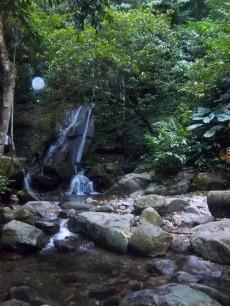 Mein Ziel: ein kleiner Wasserfall