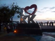 Naja, ich liebe Kota Kinabalu nicht direkt, aber Borneo schon