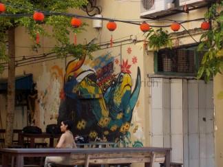 Noch mehr Wandmalerei