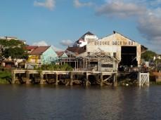 Die alte Werft, benannt nach dem ersten Rajah James Brooke