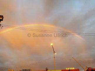 Regenbogen in Kota Kinabalu