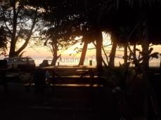 Ja, und wieder mal ein Sonnenuntergang