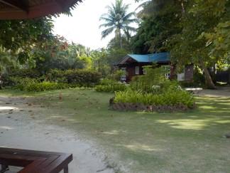 Auch teurer und abgeschottete Resorts sind auf Pulau Mabul