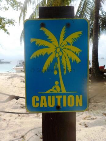 Sipadan ist nicht ungefährlich