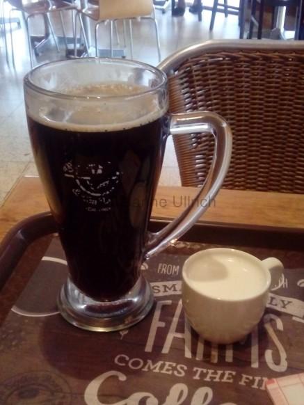 Mal ganz in Ruhe eine Tasse Kaffee trinken. *g*