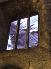 Diese tolle Decke im Restaurant der Casa Mila haben wir leider nur von außen gesehen