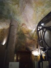 Auch im 2. Innenhof sind die Decken toll gestaltet