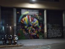Graffitis gibt es in der Stadt überall
