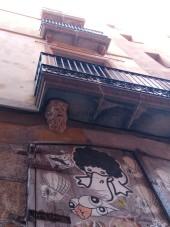 Überall gibt es was zu entdecken im Barri Gotic