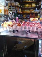 Snacks im Mercat de Santa Caterina