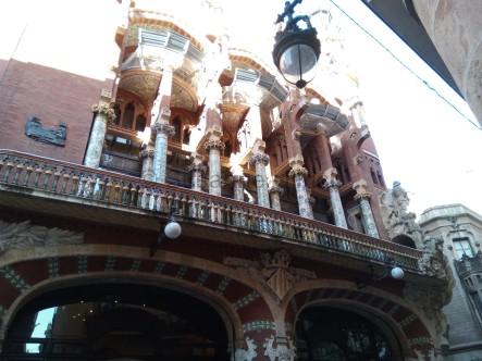 Das Palau de la Muscia Catalana - Eine Konzerthalle