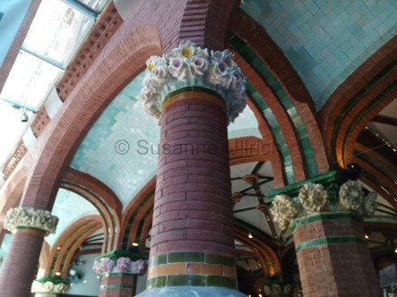 Im Cafe des Palau de la Musica Catalana