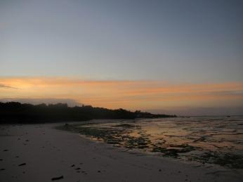 Sonnenuntergang an der Ostküste
