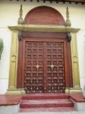 Eine der sogenannten Sansibar-Türen