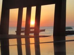 Sonneuntergangsspielerei