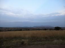 Abendlicher Blick über die Serengeti