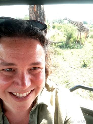 Giraffen-Selfie
